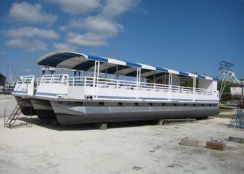 The Lady L is one of two boats the city purchased to replace the water taxi service.