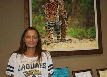 A Harvard University and Harvard Law School graduate, Jacksonville Jaguars Senior Vice President Megha Parekh is the organization's chief legal officer. She also is responsible for human resources, employee development, information technology, and off...