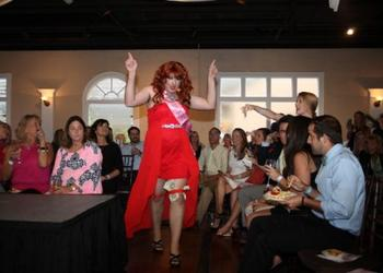 Tom Reinard won the 2015 Womanless Beauty Pageant presented by the St. Augustine Young Professionals Organization.