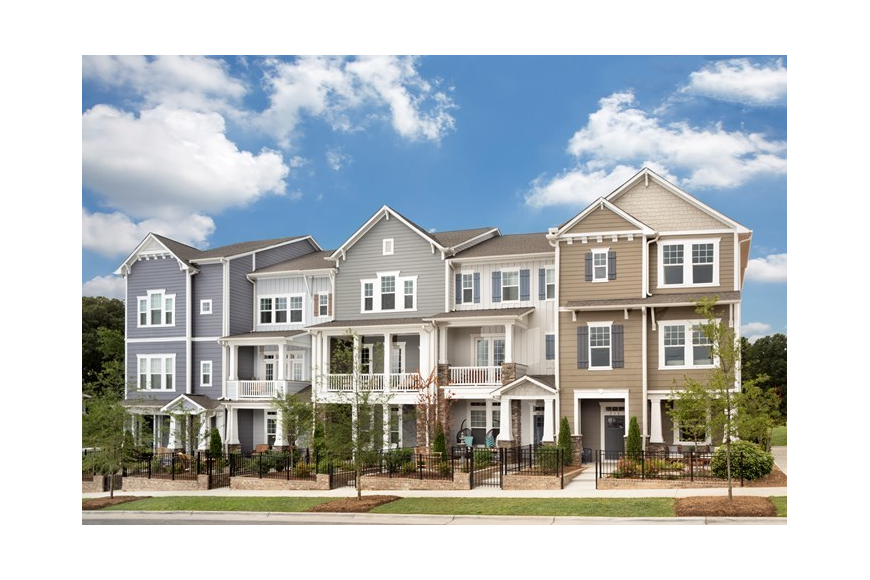 An example of the David Weekley Homes Central Living brand in Charlotte, North Carolina.