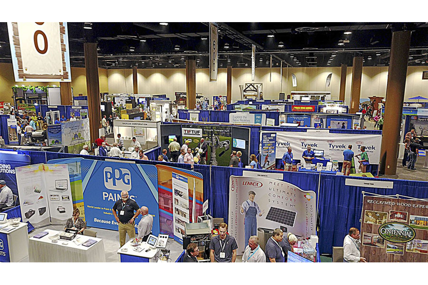 Vendors display the newest and best in products and services, making shopping easy for SEBC attendees.