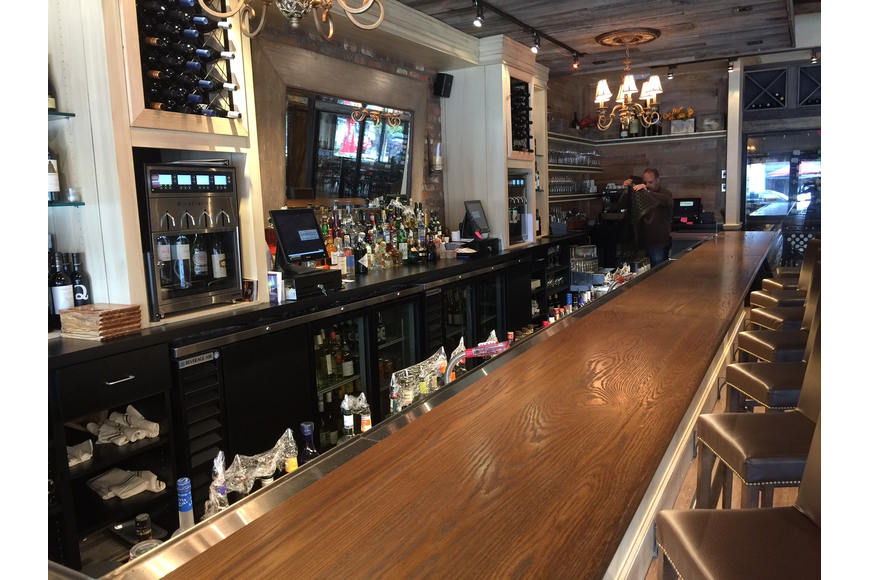 The bar at Barrique features more than 200 wines.