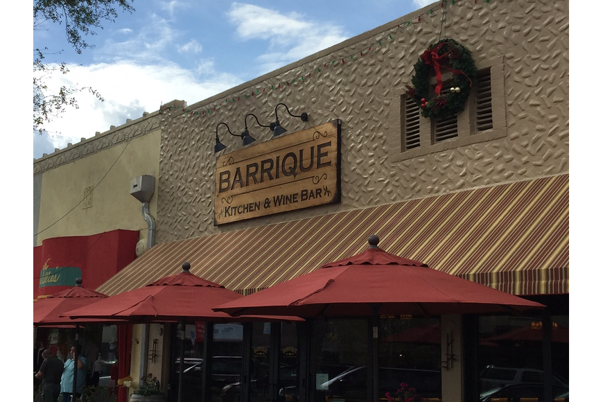 Barrique is at 3563 St. Johns Ave. in Avondale.