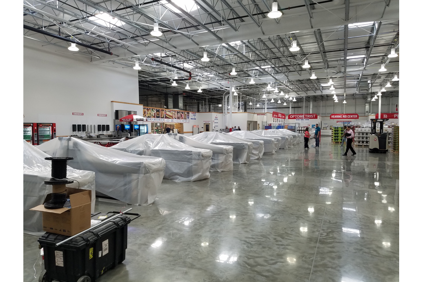 The new Costco will have all full-service checkouts.