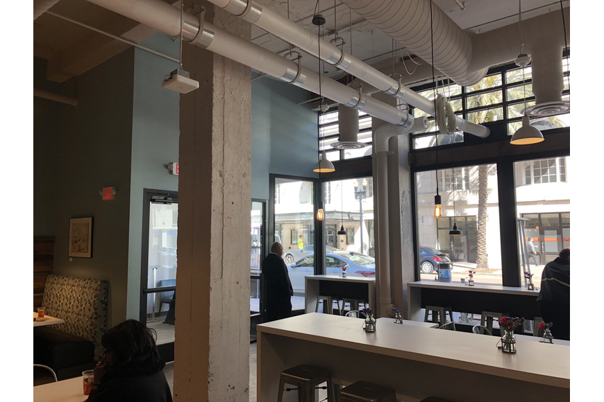 Inside Florida State College at Jacksonville's new Downtown Restaurant, 20West Café. The restaurant will serve breakfast and lunch to the public daily from 7 a.m. to 3 p.m. starting Monday March 18.  It will be staffed by FSCJ stu