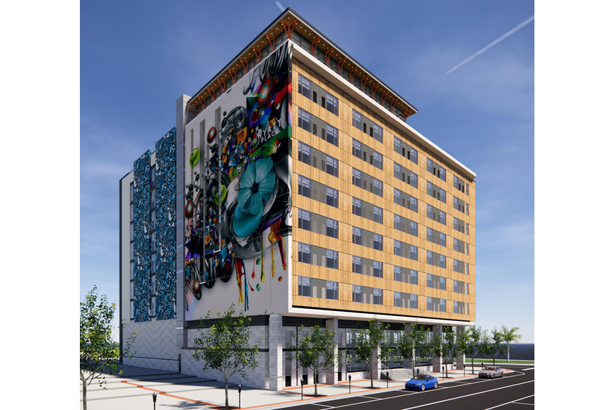The development group plans to use on-street parking along Hogan Street and the 612-space parking garage directly behind the hotel site.