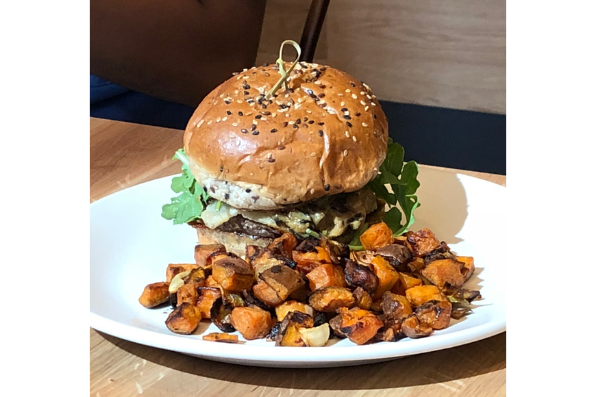 Burgers are on the menu at True Food Kitchen.