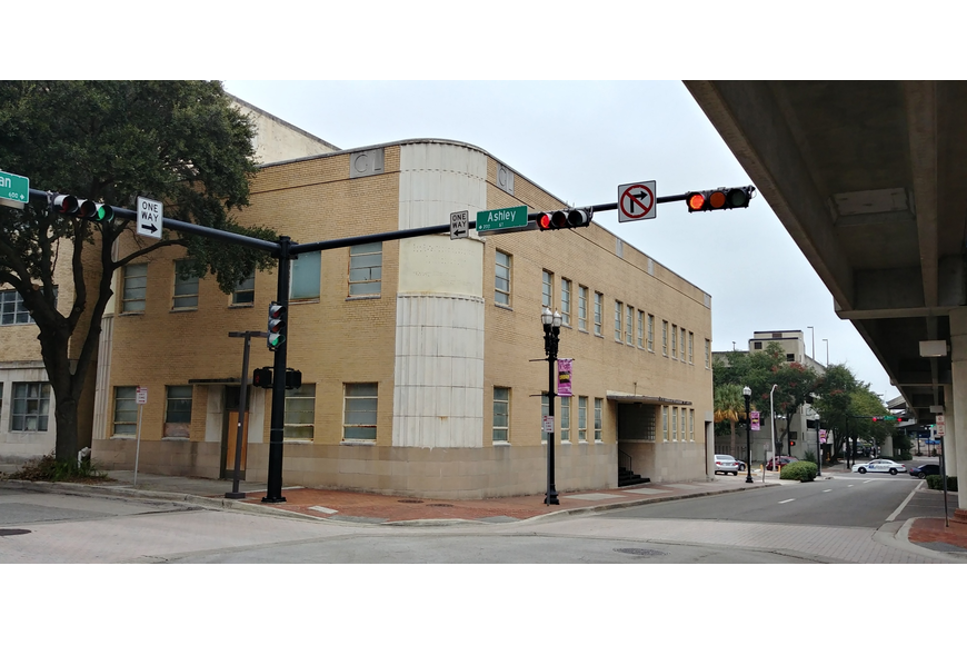 The former Gulf Life Insurance Building at 604 N. Hogan St. was recommended for demolition by the Jacksonville Historic Preservation Commission.