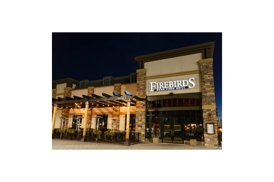Firebirds Wood Fired Grill intends to open in third quarter 2017 at The Strand shopping center near St. Johns Town Center.