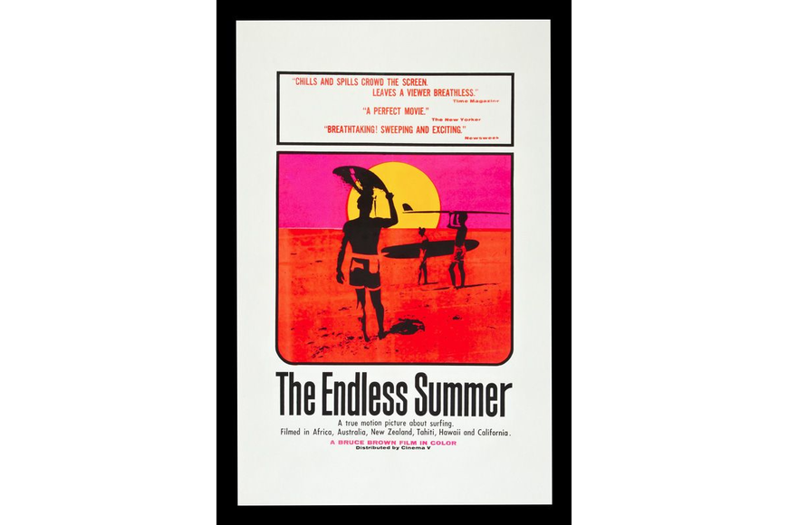 "The surfing documentary ""The Endless Summer"" opened at the Florida Theatre this week in 1967."
