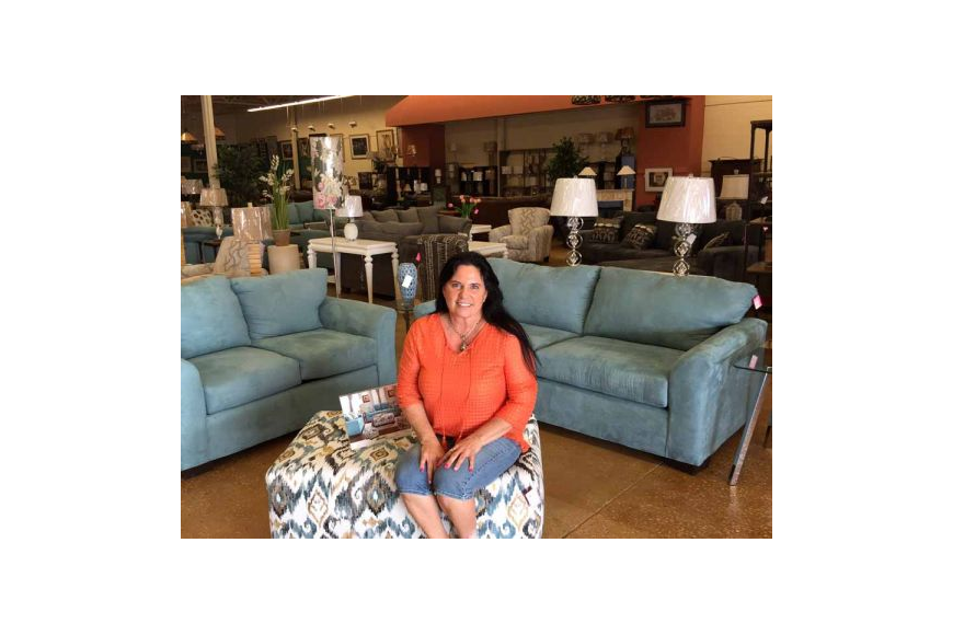 Bobbie Eunice opened East Coast Furniture in late March in Regency Commons.