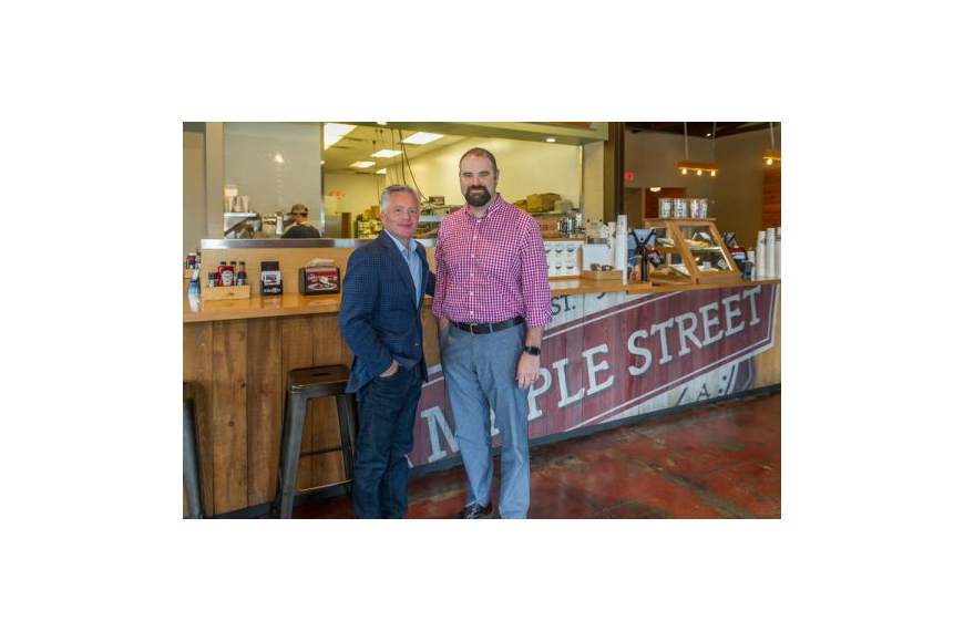 Maple Street Biscuit Co. co-founders Scott Moore and Gus Evans launched their first restaurant in 2012 after both sought their next careers.