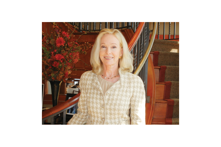 Photo by Karen Brune Mathis - Margaret Black-Scott, known as Mag, introduced her new Beverly Hills Wealth Management firm in Jacksonville at a lunch Oct. 24 at The River Club. Nancy Overton, vice president of Beverly Hills Wealth Management, is a long...