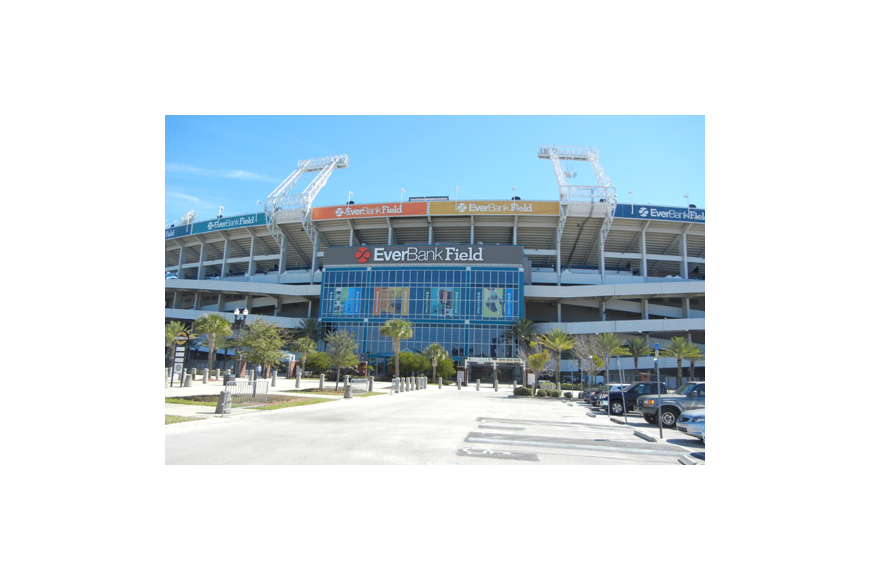Photo by Karen Brune Mathis - The Jacksonville Jaguars plan to start renovations at EverBank Field.