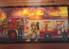 The late Max Leggett is featured in a mural at the Firehouse Subs shop in River City Marketplace. Leggett's son, Steve, is partnering with Firehouse founders, Robin and Chris Sorensen, to develop property in North Jacksonville. Max Leggett and the Sor...